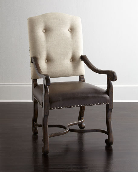Hooker Furniture Reverie Armchairs, Pair