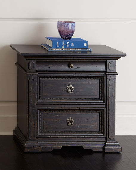Hooker Furniture Royce Three-Drawer Nightstand