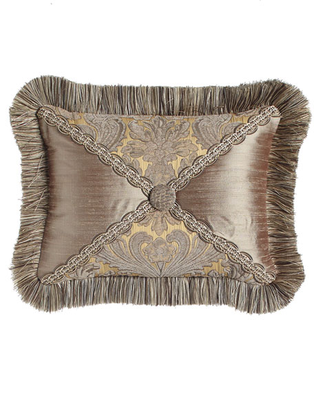 Dian Austin Couture Home Winter Twilight Patch Pillow,
