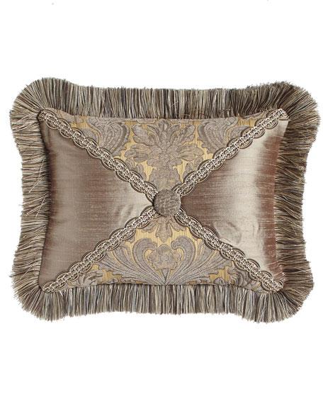 "Winter Twilight Patch Pillow, 12"" x 16"""