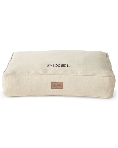 Harry Barker Small Natural Tweed Bed