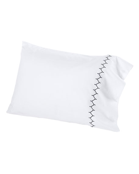 John Robshaw Two Standard 300TC Stitched Pillowcases