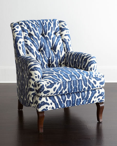 Desi Tufted-Back Chair