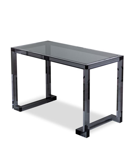 Coco Noire Acrylic Writing Desk
