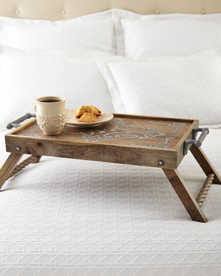 G G Collection Bed Tray and Stand
