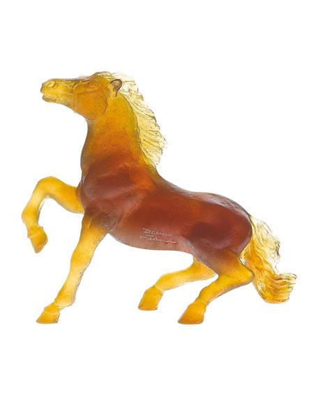 Daum Wild Horse Sculpture