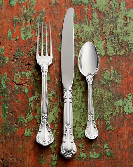 Gorham 46-Piece Chantilly Sterling Silver Flatware Service