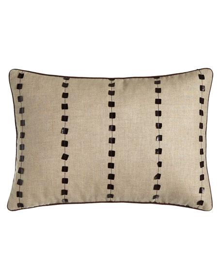 """Oblong Natural Pillow, 14"""" x 20"""""""