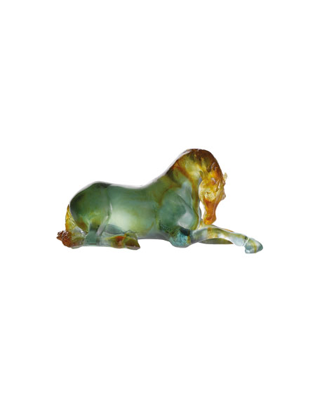 Resting Mare Horse Sculpture