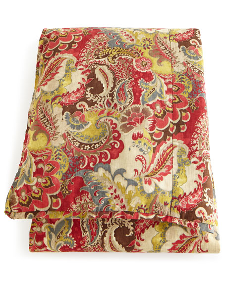French Laundry Home Queen Jocelyn Paisley Duvet Cover