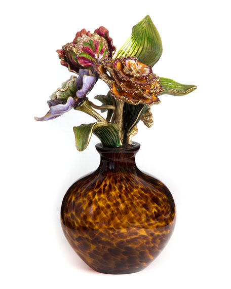 Jay Strongwater Floral Object Neiman Marcus