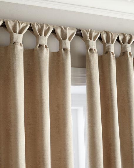 Austin horn en vogue two 52 w x 96 l echo curtains for 3 window curtain design