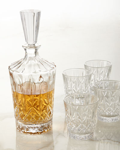 Aberdeen 5-Piece Whiskey Set