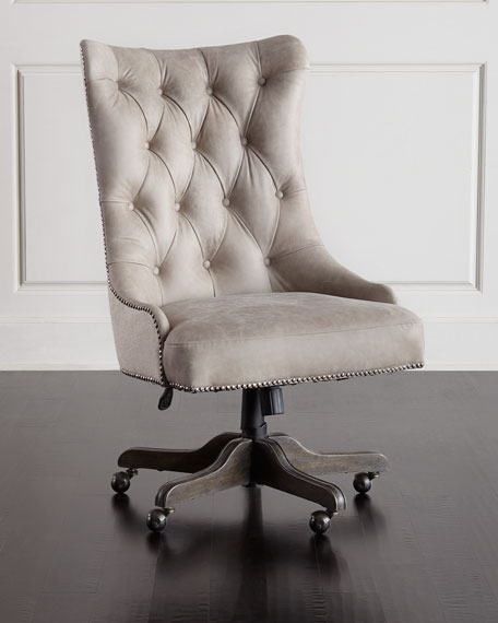 Hooker Furniture Matilda Leather Office Chair