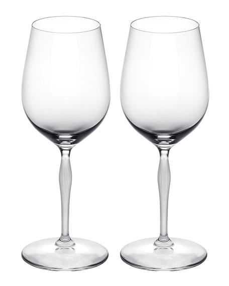 Lalique 100 Points Universal Glasses, Set of 2