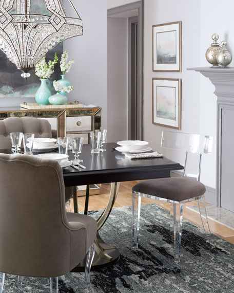 Bernhardt Lambert Double-Pedestal Table