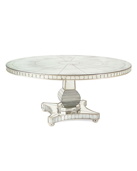 Tonya Mirrored Dining Table
