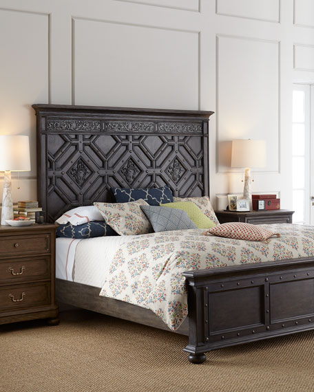 Hooker Furniture Matilda California King Panel Bed