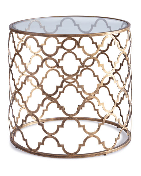 Image 2 of 2: Susie Fretwork Side Table