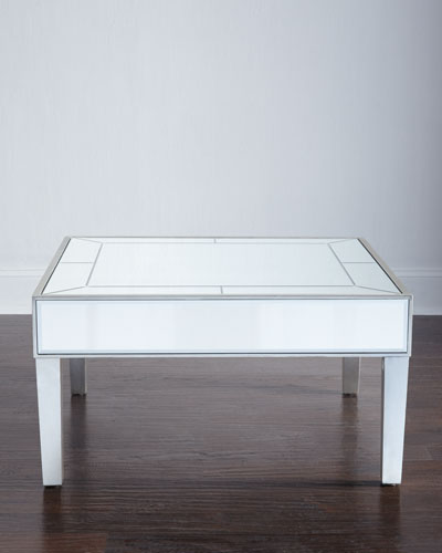 Macie Mirrored Coffee Table