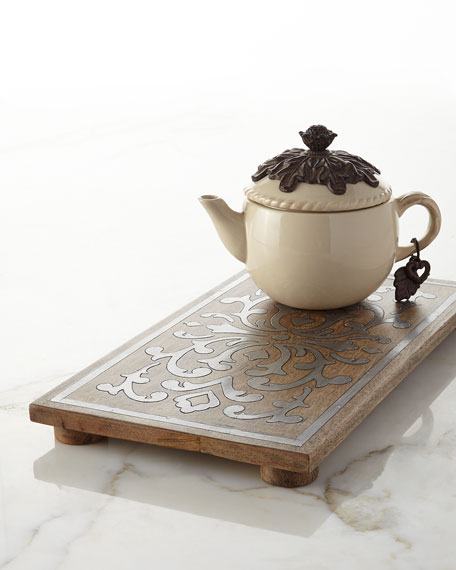 G G Collection Rectangular Trivet