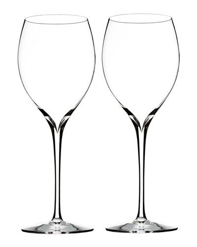 Elegance Chardonnay Wine Glasses  Set of 2