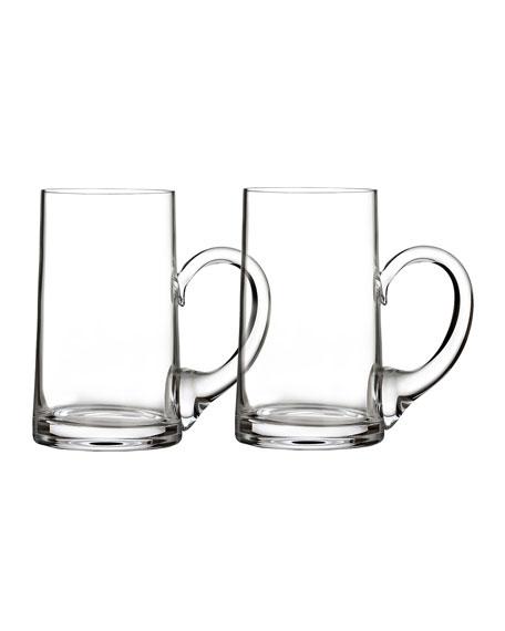 Waterford Crystal Elegance Beer Mugs, Set of 2