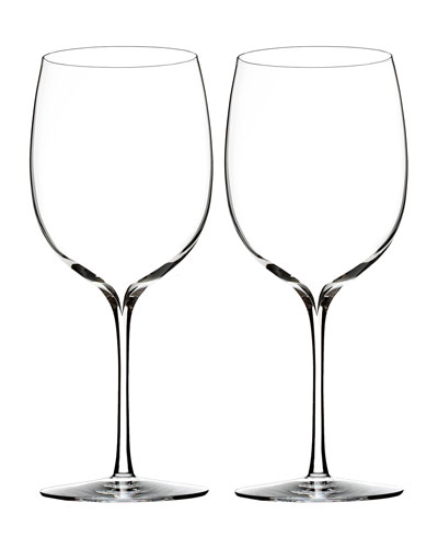 Elegance Bordeaux Glasses  Set of 2