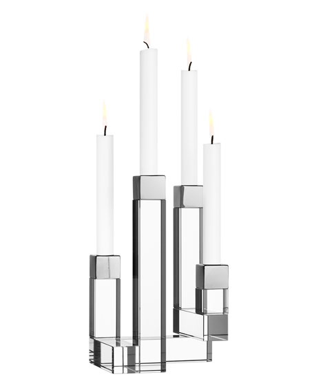 Chimney Four-Arm Candleholder