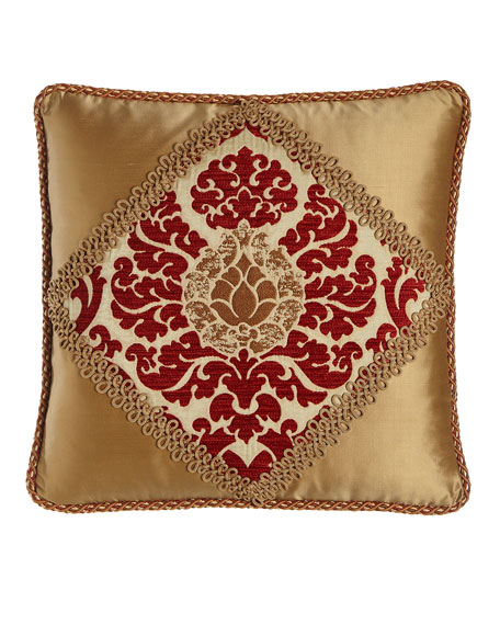 "Austin Horn Collection Arabesque Pillow, 20""Sq."