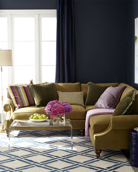 Alix Right Corner Sofa with Left-Facing Loveseat Sectional