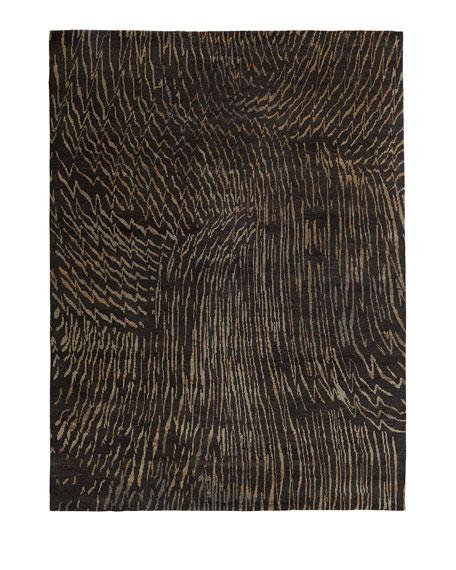 Dark Water Rug, 6' x 9'