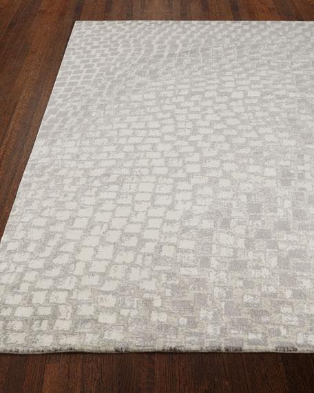 """NourCouture Cream Tile Rug, 8'6"""" x 11'6"""""""