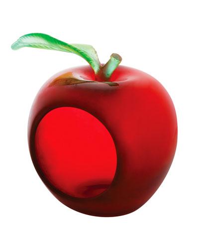 Large Apple Votive Holder