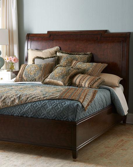 hooker california king sleigh bed - King Sleigh Bed