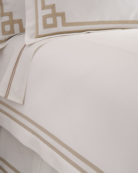Queen Ming Pagoda Fretwork Coverlet