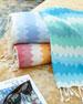 """Fouta Jacquard Beach Towel, 38"""" x 78"""""""