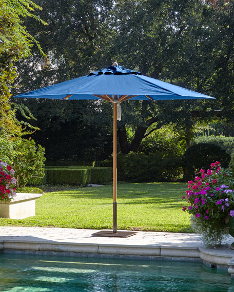 Santa Barbara Designs Blue Standard Canopy Outdoor Umbrella