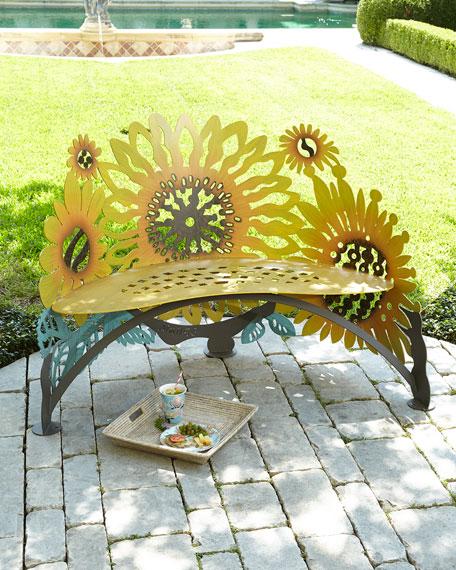 Sunflower Bench Neiman Marcus