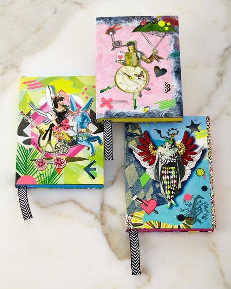 Christian Lacroix Artemis, Chronos, & Icare Notebooks, 3-Piece