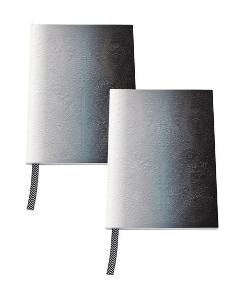 Christian Lacroix A5 Neon Black Paseo Notebooks, Set