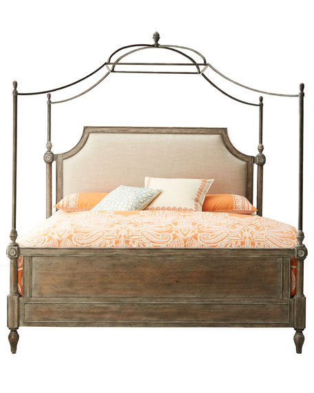 Hooker Furniture Cortina King Canopy Bed Neiman Marcus