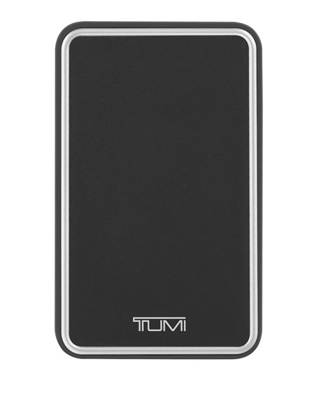 Tumi Black 4,000 mAh Battery Bank
