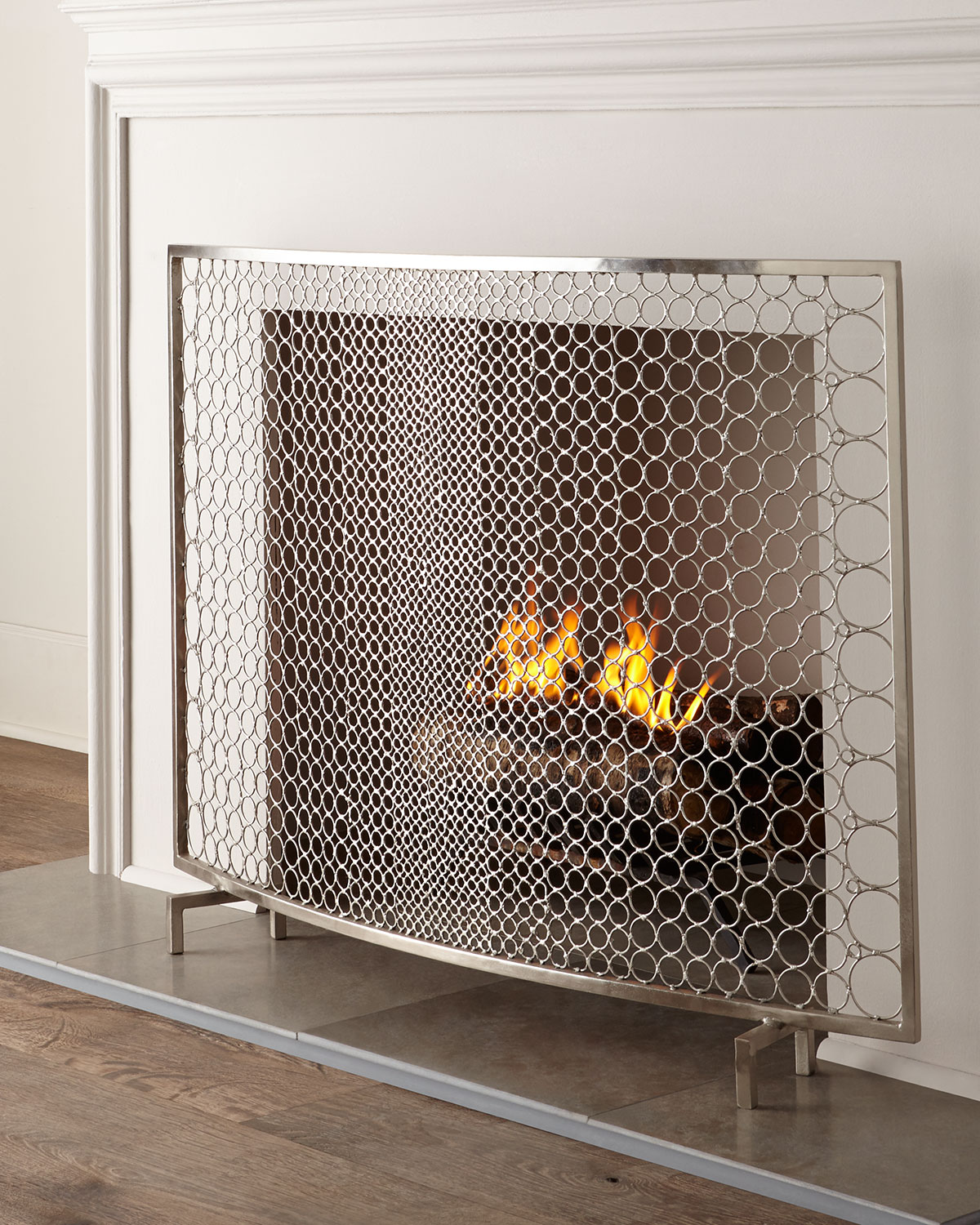 Sabrina Fireplace Screen by Interlude Home