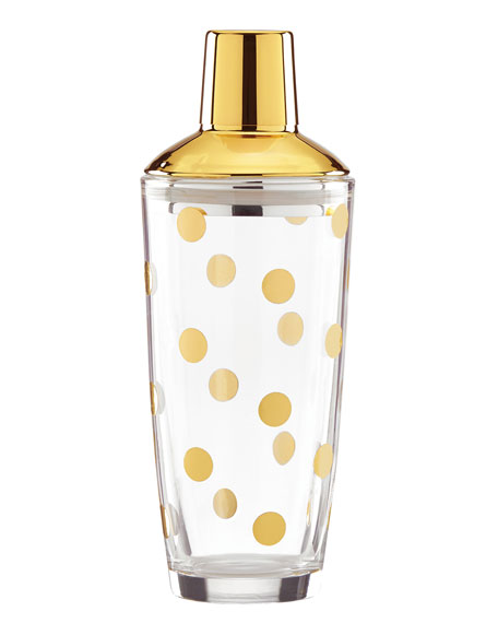 GOLD DOT COCKTAIL SHAKER