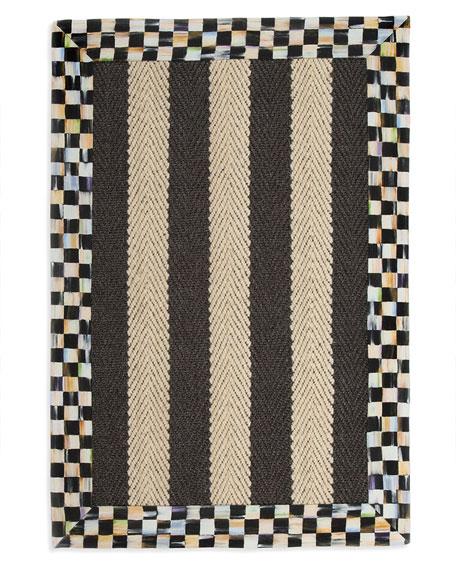 Stripe Rug, 2' x 3'