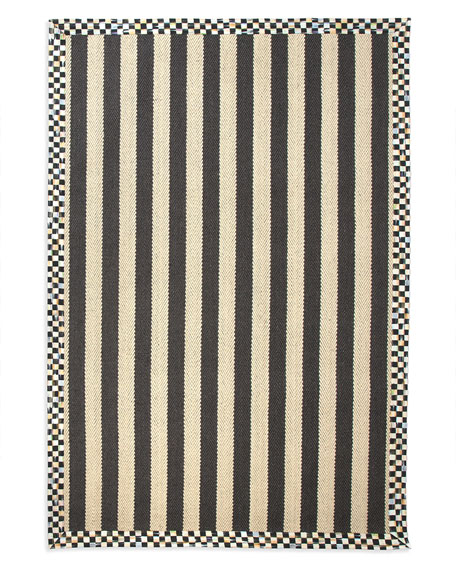 MacKenzie-Childs Stripe Rug, 5' x 8'
