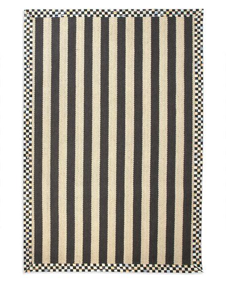 Stripe Rug, 5' x 8'