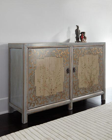 Vintage Wood Sideboard