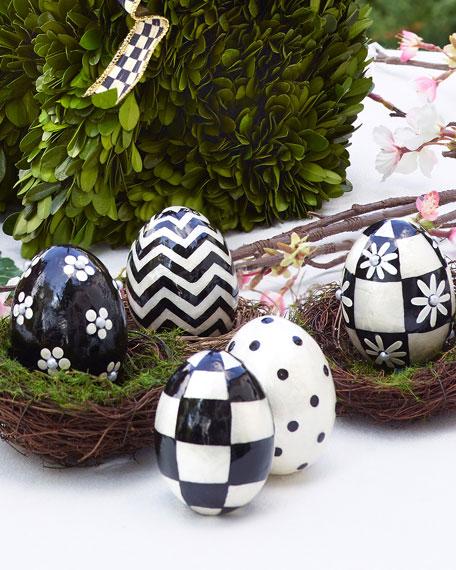 Capiz Eggs, Set of 5